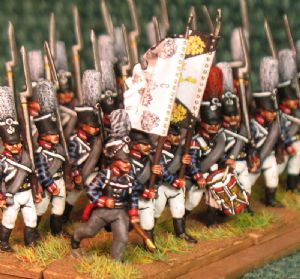 15mm, Napoleonic Prussian Guard Grenadiers AB 24 figures